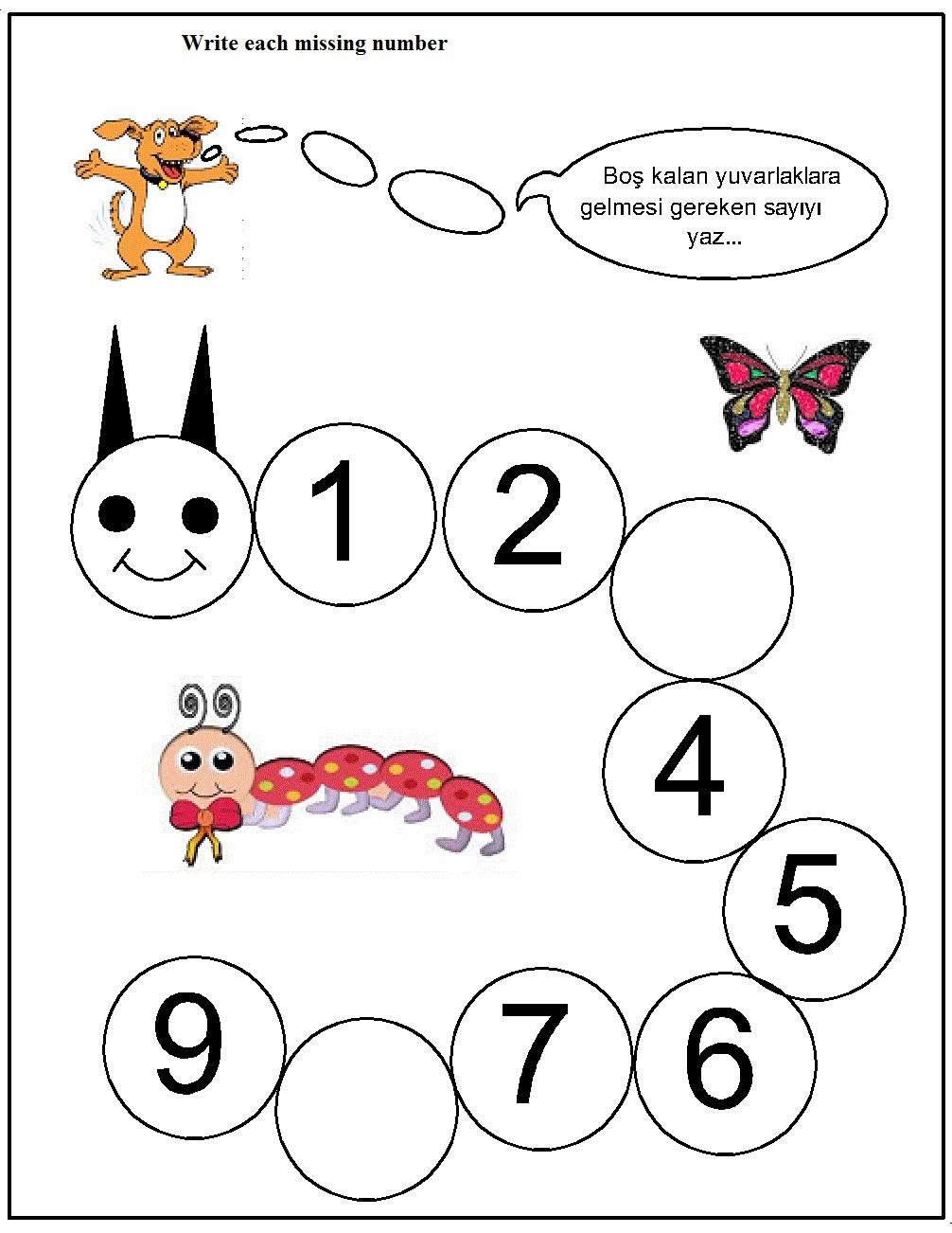missing number worksheet for kids (3)