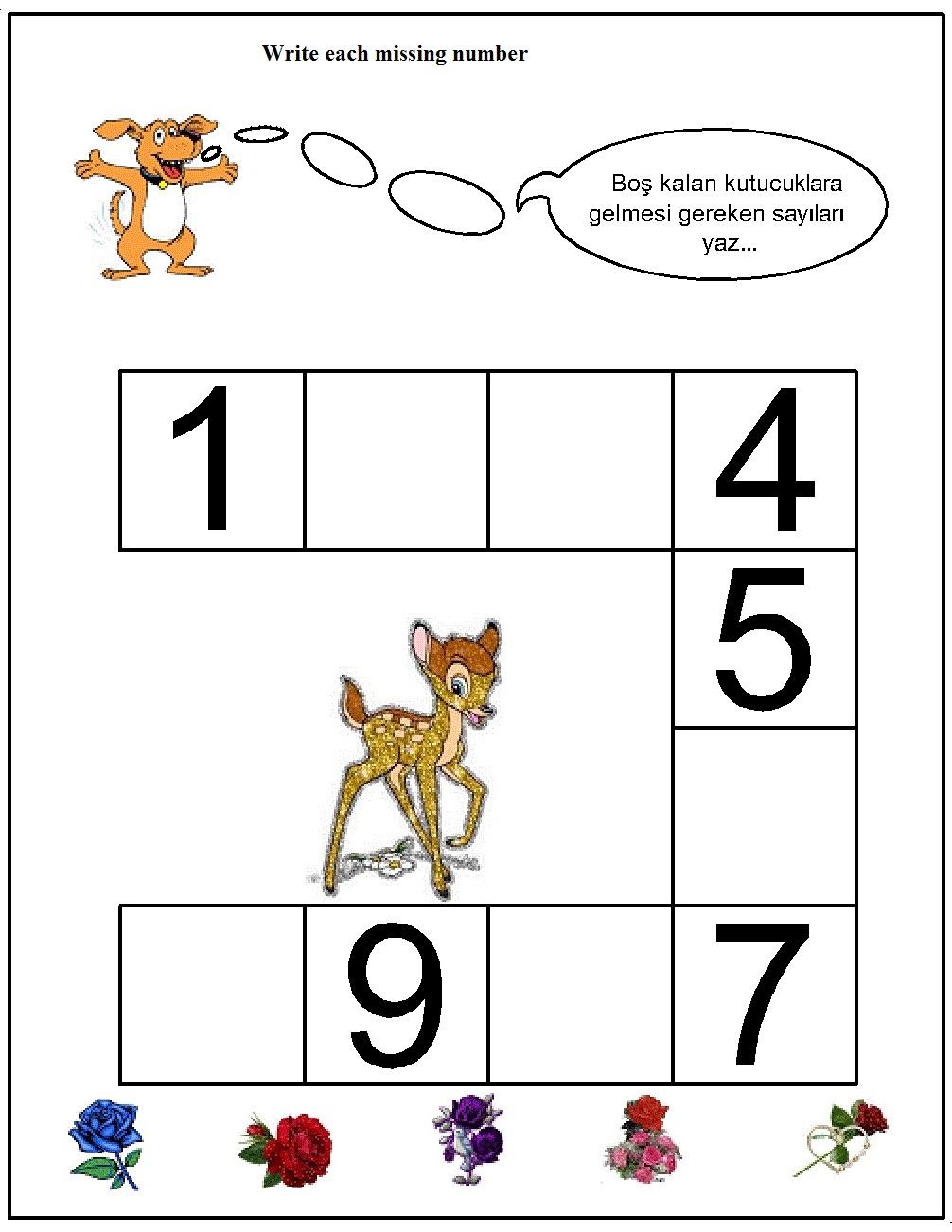 missing number worksheet for kids (30)