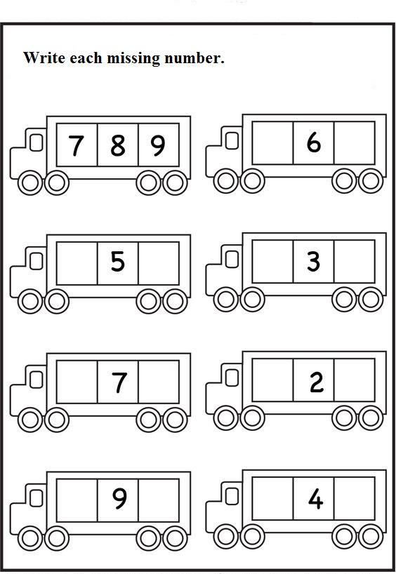 missing number worksheet for kids (34)