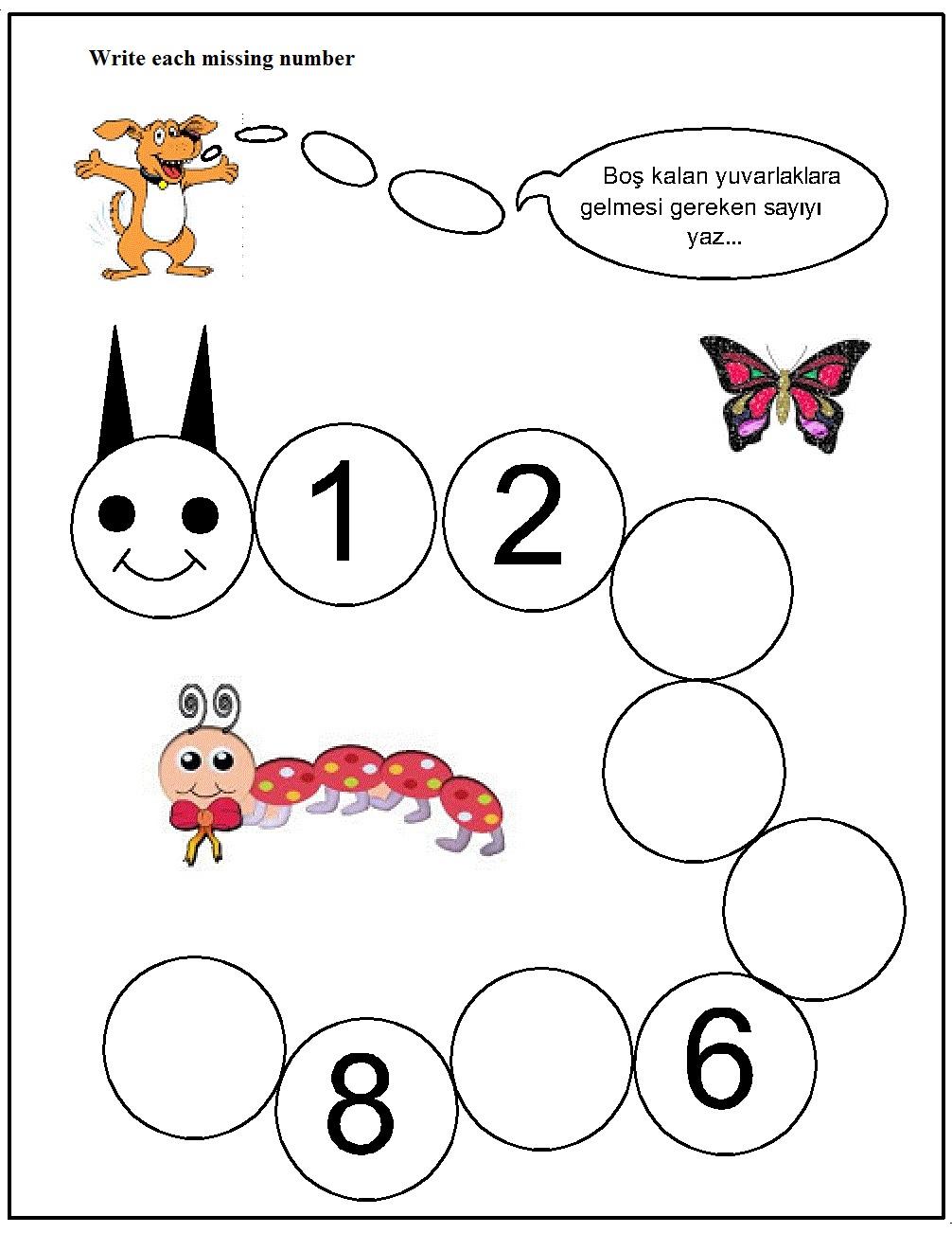 missing number worksheet for kids (6)