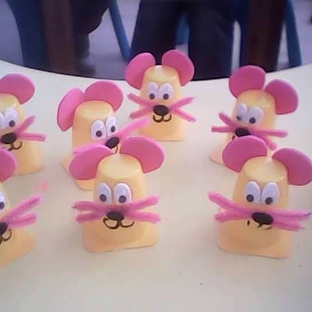 mouse craft idea for kids (4)
