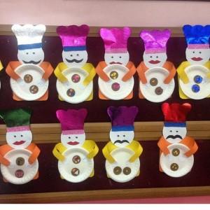 paper plate chef craft idea