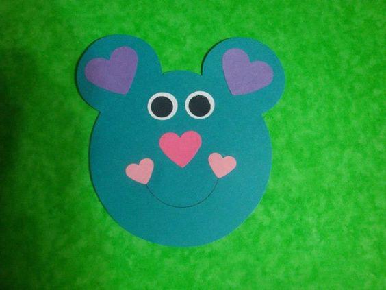 valentine day bear craft (3)