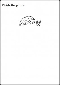 Finish the drawing Worksheet for kids (4)