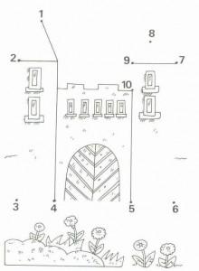 dot to dot castle worksheet