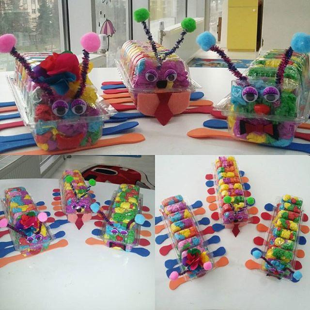 free caterpillar craft idea