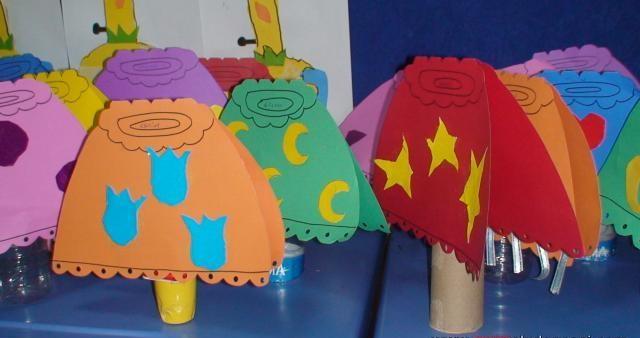 lampshade craft idea (2)