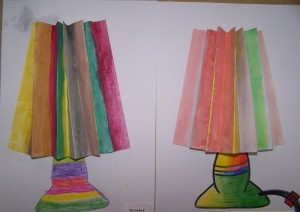 lampshade craft idea (3)