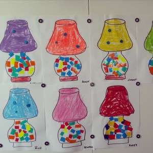 lampshade craft idea for kids (1)
