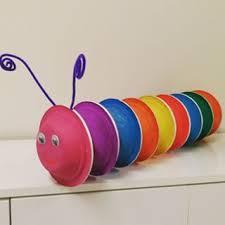 paper plate caterpillar craft (1)