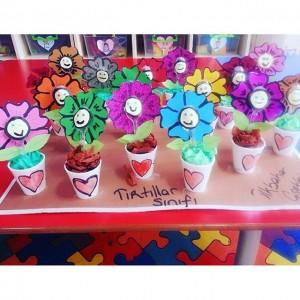 plastic spoon flower craft