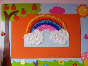 rainbow bulletin board idea (1)