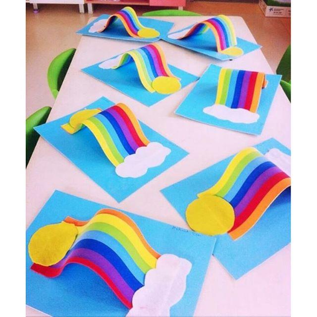 rainbow craft idea (3)
