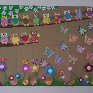 spring bulletin board idea for kids (1)