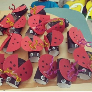 toilet paper roll ladybug craft craft idea for crafts and worksheets for 7259