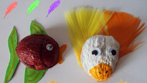 walnut shell craft idea for kids (2)