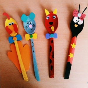 wooden spoon animals craft idea (4)