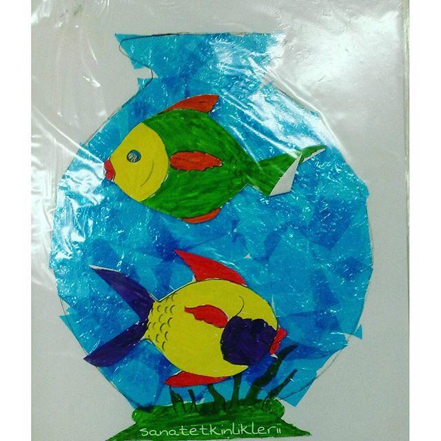 Aquarium craft idea for kids (1)