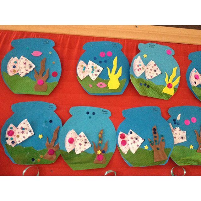 Aquarium craft idea for kids (4)