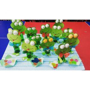 bottle frog craft