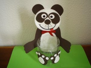 bottle panda craft