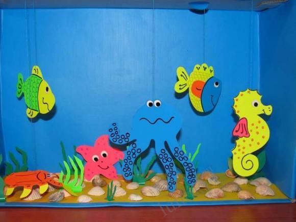 box Aquarium craft