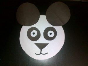 easy panda craft
