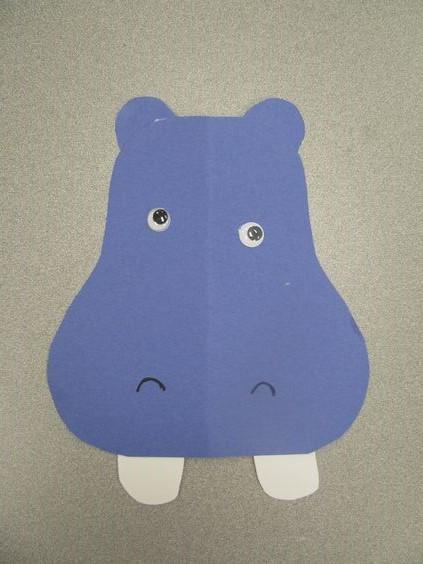 free hippo craft idea for kids (2)