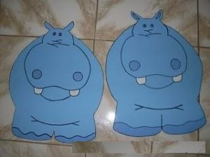 free hippo craft idea for kids (3)