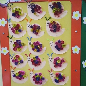 free snail craft idea for kids (3)