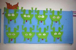 frog craft idea