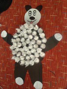 paper cup panda craft