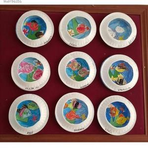 paper plate Aquarium craft (3)
