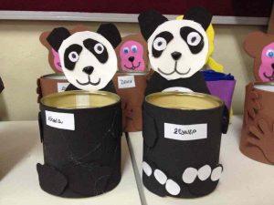tin can panda craft