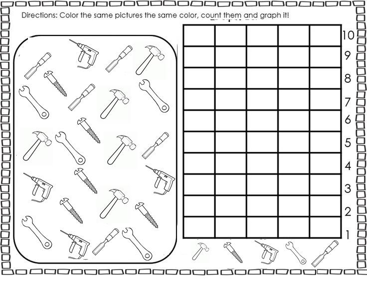 tools graph worksheet