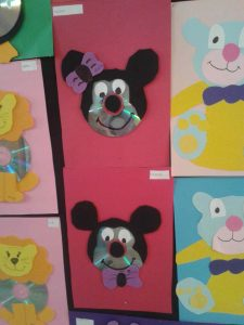 cd mickey mouse craft