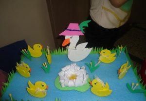 duck bulletin board idea for kids