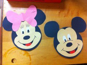 mickey mouse craft idea