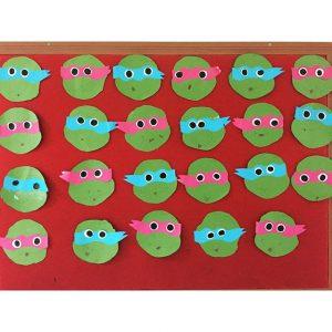 ninja turtle craft idea for kids