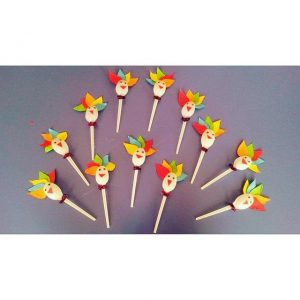 plastic spoon turkey craft