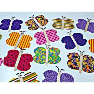 popsicle stick butterfly craft idea (1)