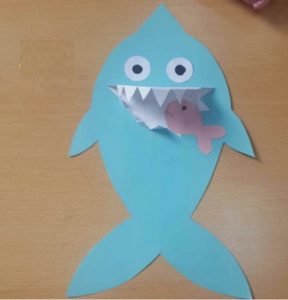 shark craft idea for kid