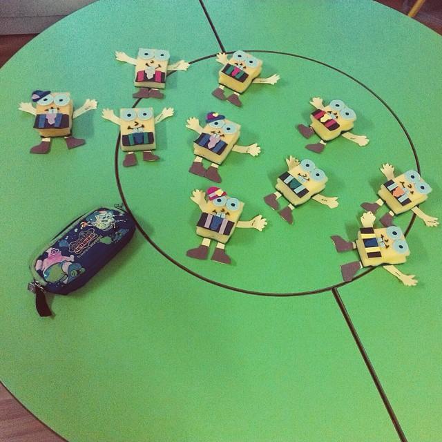 sponge sponge bob craft idea