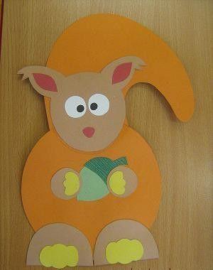 squirrel craft idea for preschooler (1)