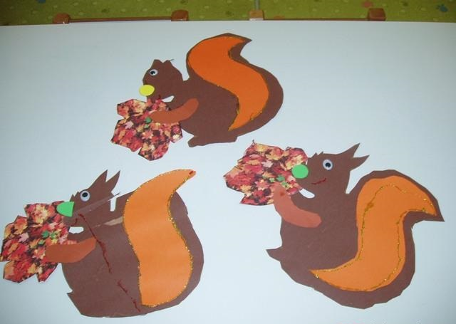 squirrel craft idea for preschooler (4)