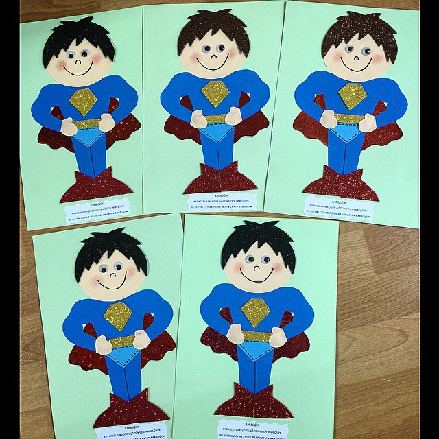 superman craft idea