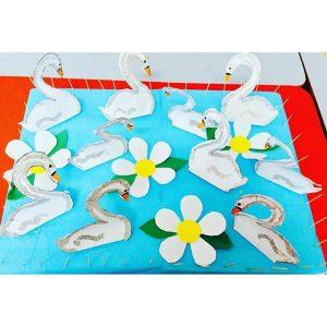 swan bulletin board idea