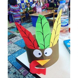 turky headband craft (2)