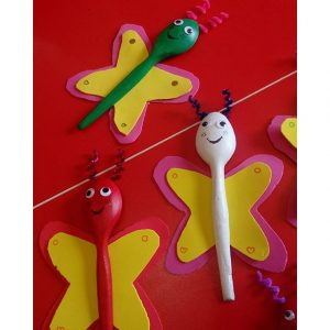 wooden spoon butterfly craft (2)