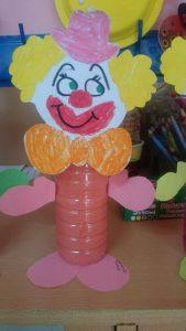 bottle clown craft